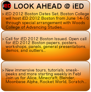 LOOK AHEAD AT iED