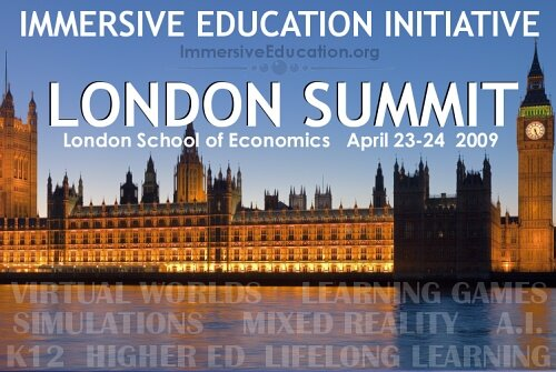Immersive Education Initiative LONDON SUMMIT April 2009
