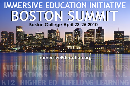Immersive Education 2010 Boston Summit
